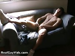 Adrian Masturbating Off His Awesome Firm Gay Schlong 6 By RealGayVids