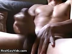 Adrian Masturbating Off His Pleasure Firm Gay Tube 5 By RealGayVids