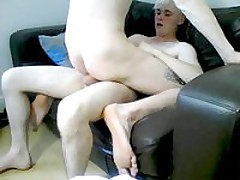Fucking My Mate On The Sofa