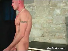 Cute Leon Wanking His Stiff Gay Jizzster 2 By GotBlake