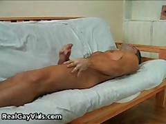 Julian Jerking His Nice Firm Gay Penis 3 By RealGayVids