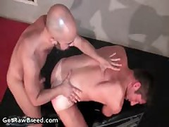 Igor Lucas And Zac Zaven Extreme Queer Hard Core Making Out On Rubbing Bed 2 By GetRawBreed
