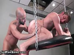 Igor Lucas And Zac Zaven Extreme Homosexual Hard Core Making Out On Rubbing Bed Four By GetRawBreed