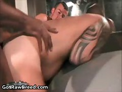 Kamrun, Andre Barclay And Dominik Rider In Super Hot Gay Groupsex 17 By GetRawBreed