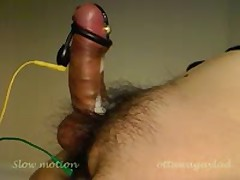 Electro Slow Motion Cumshot 6