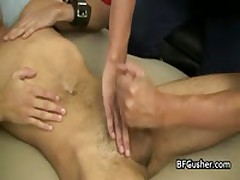 Erick Getting His Hard Gay Cock Wanked 2 By BFgusher
