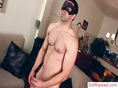 Masked Guy Stroking And Masturbating His Sausage By Gotmasked