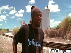 Caucasian Bro Gets Cock Sucked By Black Boy Ebony 25 By FuckThug