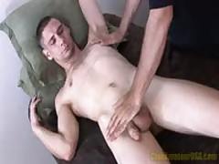 Wyatt Gets Rubbed, Tugged And Rimmed