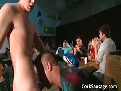 Lots Of Aroused Dudes And A Stripper 2 By CockSausage