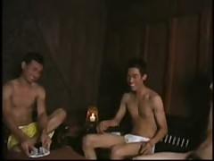 Asian Gay Strip Poker