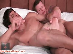 Travis Turner And Joey Milano Hard Core Bare Anal Sex Iron Four By BareBackHoles