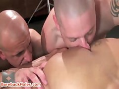 Damian Weiner Gets Rimming By Trevor And Chris 5 By Barebackholes