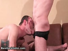 Hard Core Homosexual Barebacking Making Out And Jizzster Sucking Off Free Porno 55 By BarebackHoles