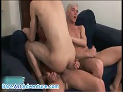 Jose Manuel, Marty And Johnnie Penis Aroused Homosexual Three-Way 6 By Bareassadventure