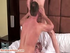 Damian Rod Gets Rimmed By Trevor And Chris 7 By Barebackholes