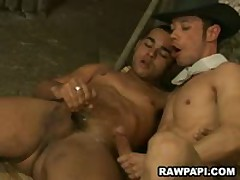 Papi Gay Anal Fuck With Nasty Cumshots