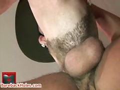 Andre Gets His Amazing Anus Rimmed By Brandon 7 By Barebackholes