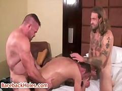 Peter Axel, Greg York And Chris Kohl In Gay Bareback Sex 3 By BareBackHoles