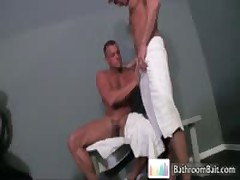 Gavin Waters In Amazing Toilet Fucks And Sucks Free Gay Porno 8 By BathroomBait