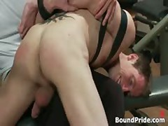 Josh Gets Bound And Ass Slapped Gay BDSM Clip 5 By BoundPride
