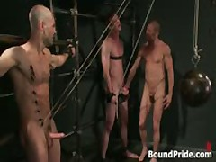 Brenn, Adam And Blake In Amazing Extreme Homosexual Bdsm Fetish Fetish Manage A Trios 9 By BoundPride