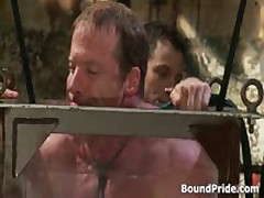 Dude Bound And Put Inside Water Tank Gay BDSM 2 By BoundPride