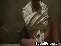 Jason Penix Getting His Fine Arse Inspected By Doktor 1 By BoundPride