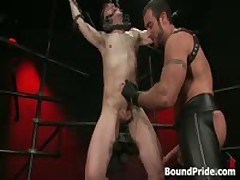 Noah Gets Strung Up And Tortured Gay BDSM 2 By BoundPride