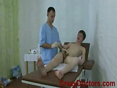 Uretra Massage For Twink Boy