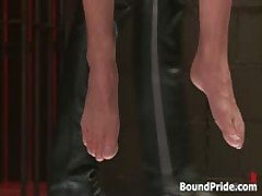 Strung And Hung And Whipped Gay BDSM 1 By BoundPride