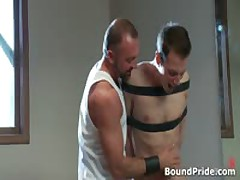 Josh Gets Bound And Ass Slapped Gay BDSM Clip 3 By BoundPride
