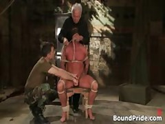 Buffed Dude Blindfolded And Bound Gay BDSM 1 By BoundPride