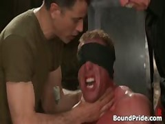Buffed Dude Blindfolded And Bound Gay BDSM 2 By BoundPride