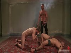 Leo And Trent In Very Extreme Gay Porn Bondage 9 By BoundPride