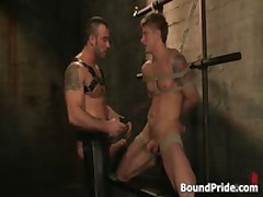 Spencer Philip In Very Extreme Queer Bdsm Action 8 By BoundPride