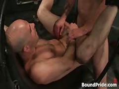 Brenn, Adam And Blake In Horny Extreme Gay Bondage S&M Fetish Threesome 13 By BoundPride