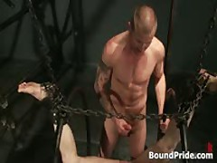 Brenn, Adam And Blake In Horny Extreme Gay Bondage S&M Fetish Threesome 13 By BoundPride