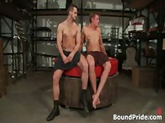 Phenix And Trent In Very Extreme Gay Sex S&M 14 By BoundPride