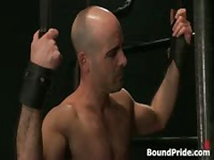 Brenn, Adam And Blake In Horny Extreme Gay Bondage S&M Fetish Threesome 8 By BoundPride