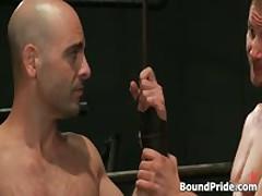 Brenn, Adam And Blake In Horny Extreme Gay Bondage S&M Fetish Threesome 8 By BoundPride