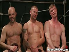 Brenn, Adam And Blake In Horny Extreme Gay Bondage S&M Fetish Threesome 15 By BoundPride