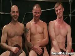 Brenn, Adam And Blake In Horny Extreme Gay Bondage S&M Fetish Threesome 15 By BoundPride