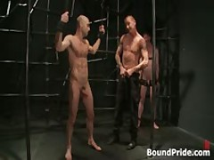 Brenn, Adam And Blake In Horny Extreme Gay Bondage S&M Fetish Threesome 6 By BoundPride