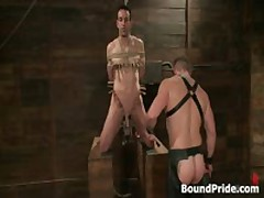 Jason Dirk In Very Extreme Gay Bondage Action 3 By BoundPride
