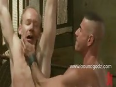 A Member Gets Tied Up  And Fucked Till He Begs For Mercy