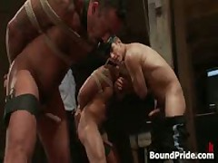 Alessio And Leo In Amazing Extreme Homo Bdsm S&M Bdsm Movie 9 By BoundPride