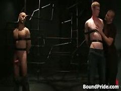 Brenn, Adam And Blake In Horny Extreme Gay Bondage S&M Fetish Threesome 4 By BoundPride