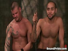 Derrick And Leo In Horny Extreme Gay Bondage Fetish Video 12 By BoundPride