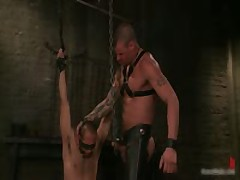 Derrick And Leo In Horny Extreme Gay Bondage Fetish Video 3 By BoundPride